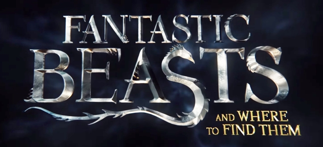 fantastic beasts and where to find them pitch crimes of grindlewald logo jk rowling david yates eddie redmayne jude law johnny depp