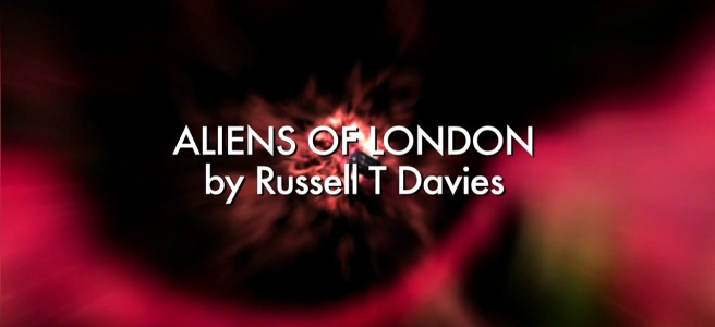 doctor who aliens of london review ninth doctor christopher eccleston rose tyler billie piper slitheen downing street russell t davies keith boak