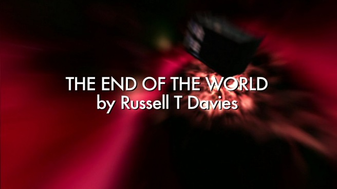 doctor who the end of the world review ninth doctor christopher eccleston rose tyler billie piper cheem pakoo cal sparkplug euros lyn