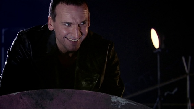 doctor who the doctor dances review ninth doctor christopher eccleston smile fantastic just this once everybody lives steven moffat james hawes