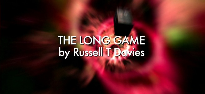 doctor who the long game review ninth doctor rose tyler adam mitchell the editor simon pegg jagrafess russell t davies brian grant