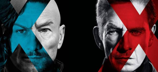 x men days of future past professor x charles xavier james mcavoy patrick stewart blue x magneto ian mckellan michael fassbender red x hd poster wallpaper
