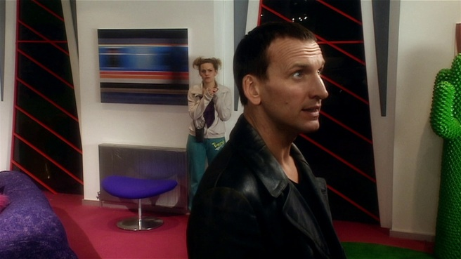 doctor who bad wolf review ninth doctor christopher eccleston lynda moss jo joyner big brother endemnol weakest link russell t davies joe ahearne