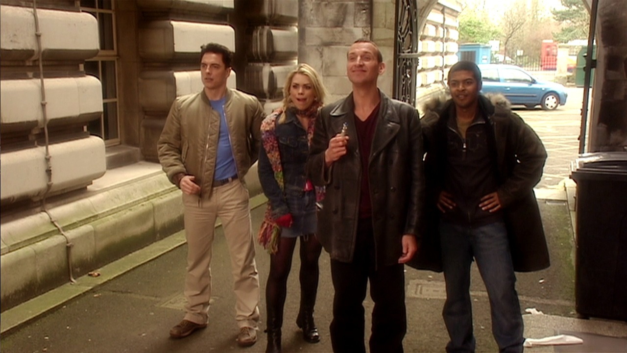 doctor who boom town review ninth doctor christopher eccleston rose tyler billie piper captain jack harkness john barrowman mickey smith noel clarke