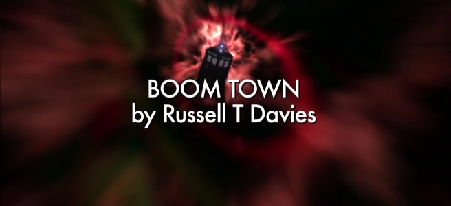 doctor who boom town review russell t davies joe ahearne christopher eccleston ninth doctor maragret slitheen annette badland series 1