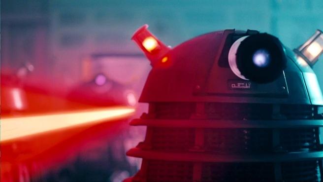 doctor who into the dalek review dalek ben wheatley peter capaldi twelfth doctor steven moffat jenna coleman clara oswald journey blue