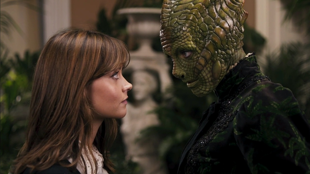 doctor who review deep breath clara oswald jenna coleman madame vastra neve mcintosh silurian paternoster row steven moffat