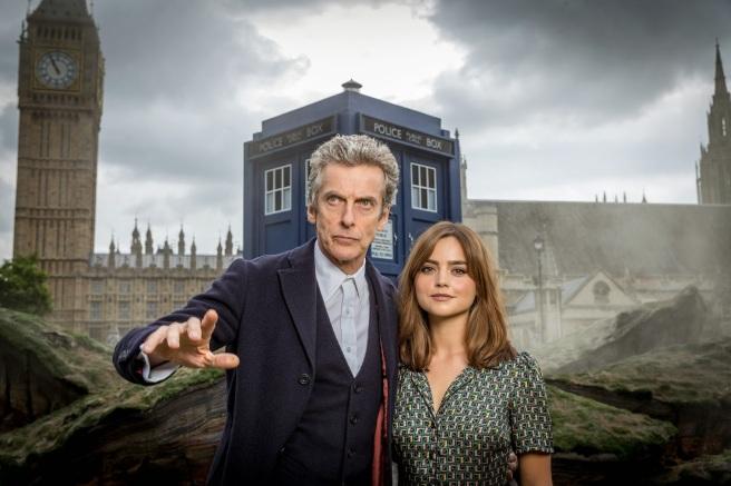 doctor who series 8 peter capaldi twelfth doctor jenna coleman clara oswald london world tour steven moffat