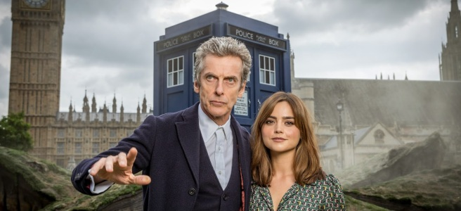 doctor who series 8 peter capaldi twelfth doctor jenna coleman clara oswald london world tour steven moffat