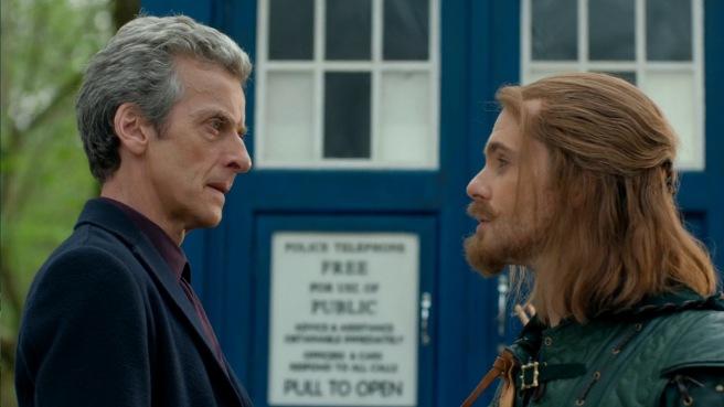 doctor who review robot of sherwood peter capaldi tom riley twelfth doctor robin hood ben miller sheriff of nottingham mark gatiss