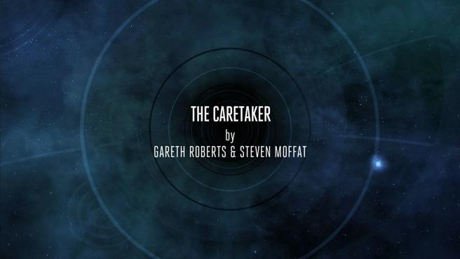 doctor who the caretaker review gareth roberts steven moffat paul murphy skovox blitzer peter capaldi jenna coleman samuel anderson
