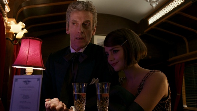 doctor who mummy on the orient express review twelfth doctor clara oswald peter capaldi jenna coleman talking about planets paul wilmshurst