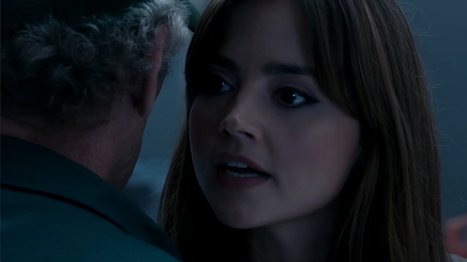 doctor who review flatline clara oswald jenna coleman on balance goodness had nothing to do with it peter capaldi jamie mathieson