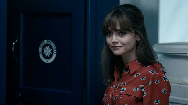 doctor who review series 8 into the dalek clara oswald jenna coleman tardis red shirt teacher phil ford steven moffat ben wheatley best companion