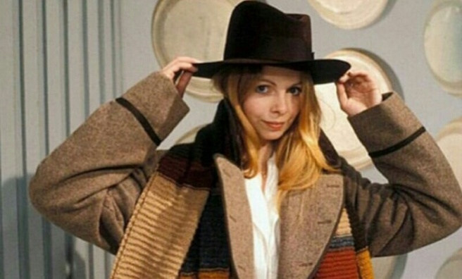 doctor who female doctor romana 2 lalla ward scarf hat tom baker fourth doctor douglas adams shada jodie whittaker thirteenth doctor chris chibnall