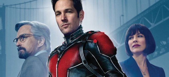 ant man paul rudd evangeline lily michael douglas peyton reed edgar wright poster review marvel cinematic universe