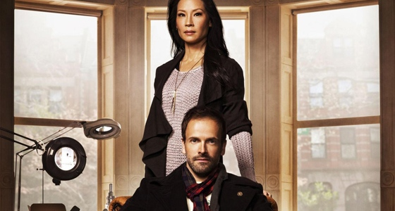 elementary the ghost line adam christopher book review blood and ink season 1 lucy liu johnny lee miller sherlock holmes