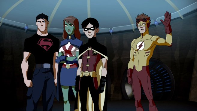 young justice end game wallpaper hd wally west miss martian robin superboy connor kent cartoon dc outsiders