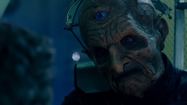 doctor who the witch's familiar review davros cries eyes julian bleach skaro twelfth doctor peter capaldi hettie macdonald steven moffat