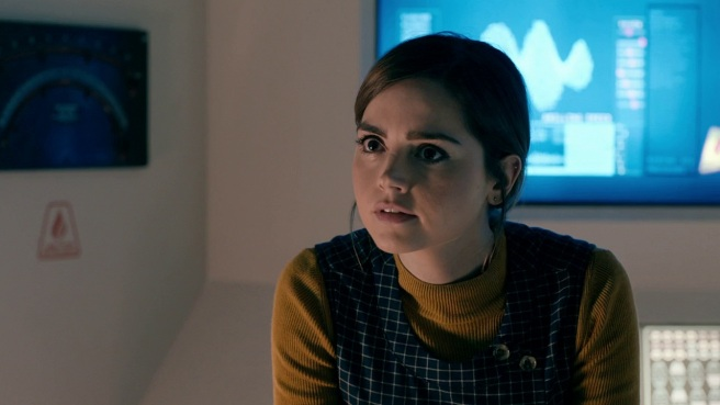 doctor who review under the lake jenna coleman clara oswald yellow green daniel o hara series 9