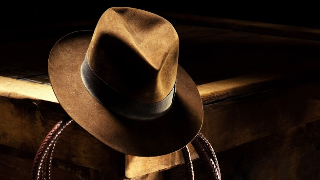 indiana jones harrison ford fedora hat whip reboot 5 kathleen kennedy lucasfilm steven spielberg shia labeouf young