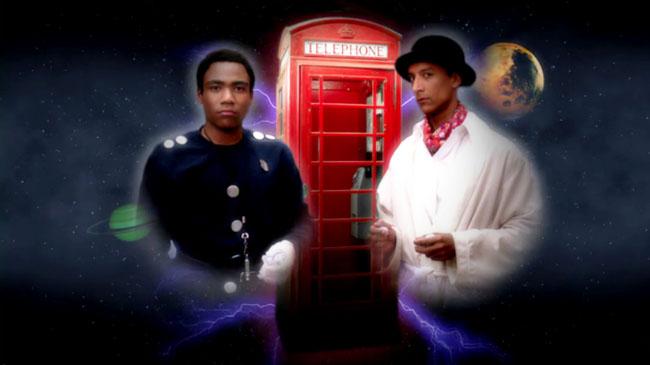 doctor who community Inspector Spacetime doctor lite dan harmon danny pudi donald glover steven moffat