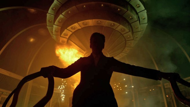 Doctor Who Peter Capaldi twelfth doctor Silhouette tardis explosion explode doctor lite story fanfiction concept pitch