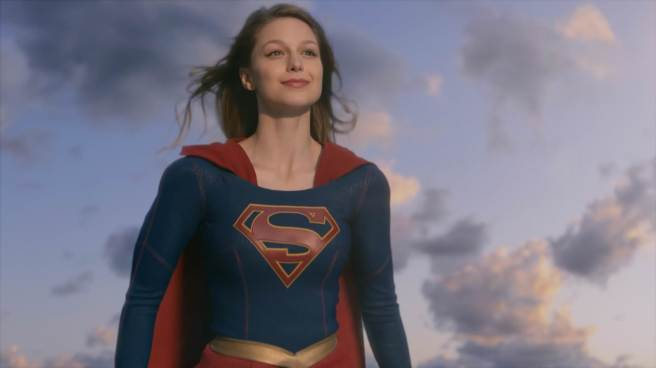 supergirl review kara danvers melissa benoist sky flight pilot ali adler cbs smile hd