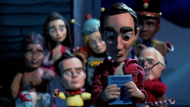 Abed's Uncontrollable Christmas community christmas special abed nadir claymation stopmotion duke johnson nbc dan harmon