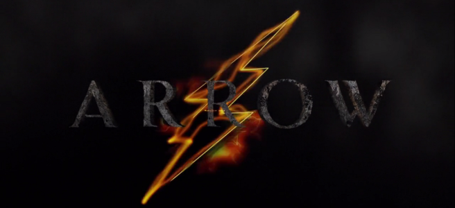 Arrow The Flash Crossover Logo Legends of Yesterday review Grant Gustin Stephen Amell