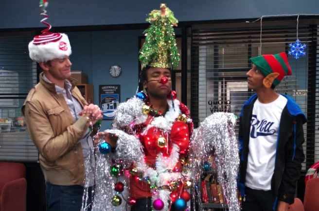community christmas specials oh christmas troy abed comparative religion abed's uncontrollable christmas stop motion intro to knots
