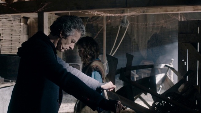 doctor who the girl who died series 9 review peter capaldi jenna coleman twelfth doctor fires of pompeii jamie mathieson maisie williams ashildr me