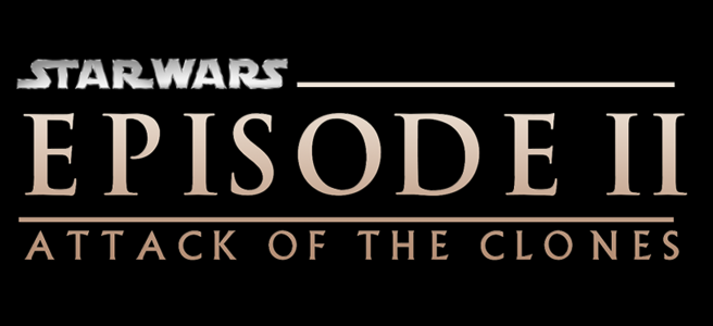 star wars attack of the clones review logo episode ii george lucas prequel trilogy