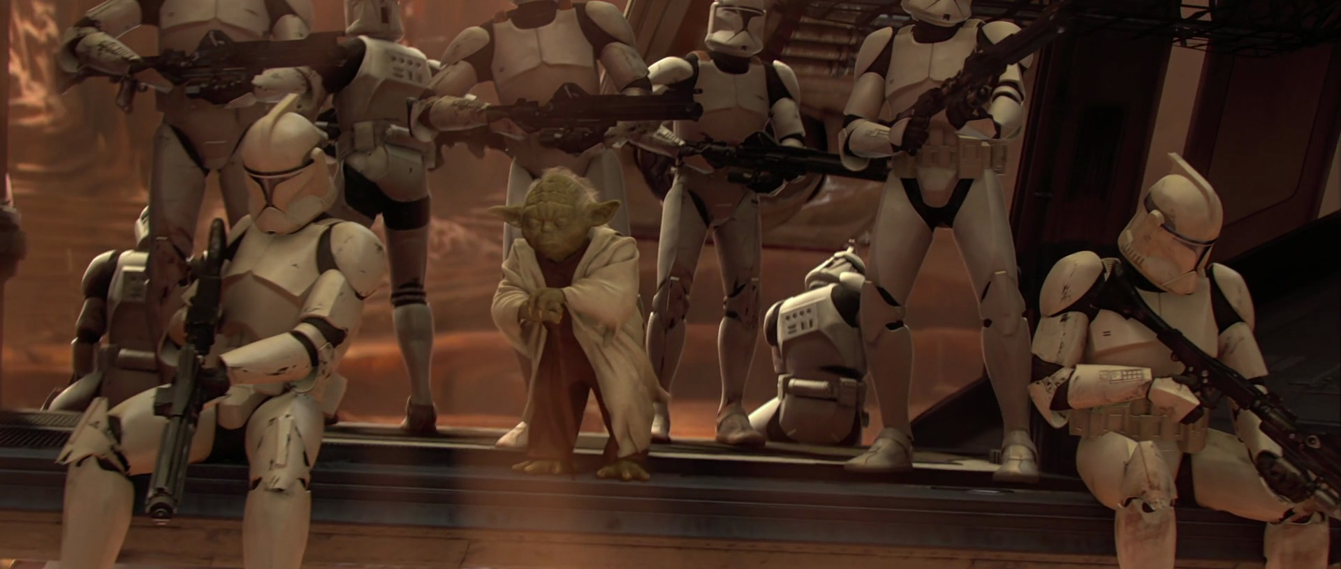 star wars attack of the clones review retrospective prequel trilogy yoda clone troopers george lucas