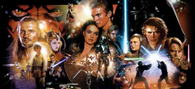star wars prequel trilogy rewrite fix improve george lucas drew struzan phantom menace attack of the clones revenge of the sith hd