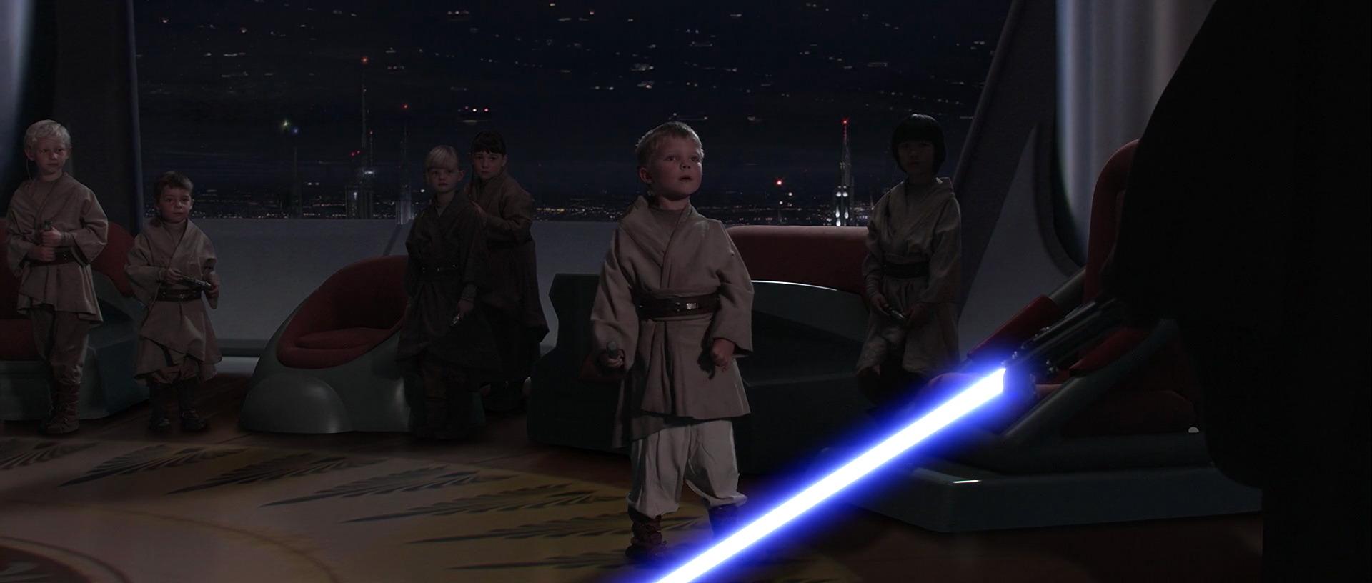 star wars revenge of the sith anakin skywalker hayden christensen kill the younglings padawan