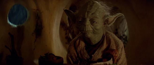 star wars the empire strikes back review yoda dagohbah frank oz puppet yoda irvin kershner george lucas lawrence kasdan