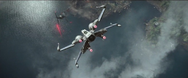 star wars the force awakens review x wing poe dameron oscar isaac jj abrams
