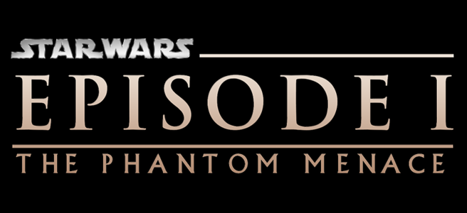 star wars the phantom menace review logo episode i george lucas prequel trilogy