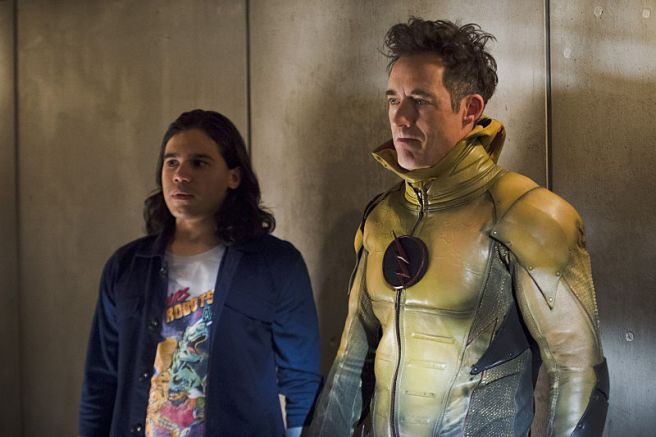 the flash season 2 gorilla warfare review cisco reverse flash harrison harry wells carlos valdes tom cavanagh