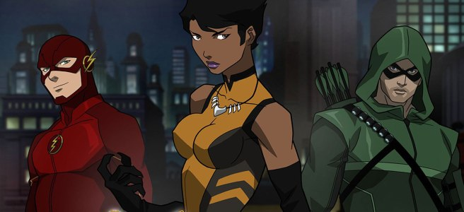 vixen cw arrow dc comics cartoon megalyn echuniwoke maisie richardson sellers arrow's animated adventure the flash legends of tomorrow