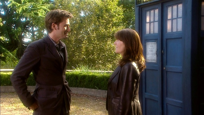 doctor who review school reunion tenth doctor sarah jane smith david tennant elisabeth sladen goodbye k9 toby whithouse james hawes rtd