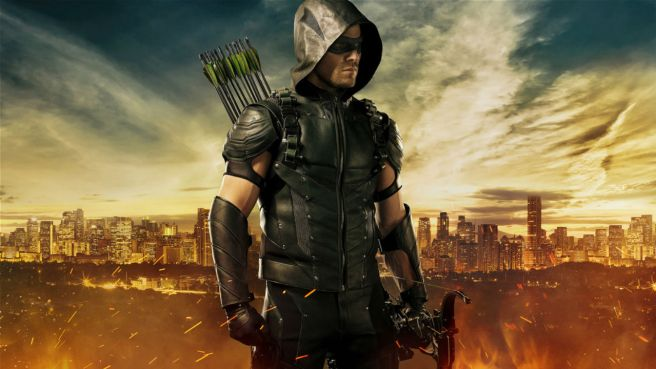 arrow season 4 review cw oliver queen felicity smoak paralysis olicity marc guggenheim hd image poster
