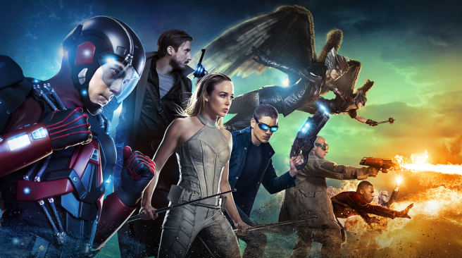 dc legends of tomorrow review season 1 atom rip hunter sara lance captain cold heatwave firestorm hawkgirl hawkman