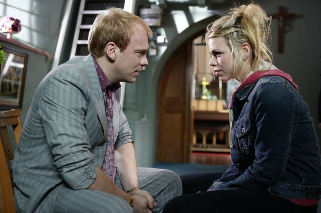 doctor who father's day paul cornell joe ahearne billie piper shaun dingwall rose tyler pete tyler reapers ninth doctor