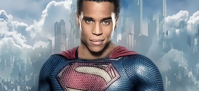 michael ealy superman supergirl melissa benoist cbs cw black superman man of steel greg berlanti ali adler krypton dc arrowverse