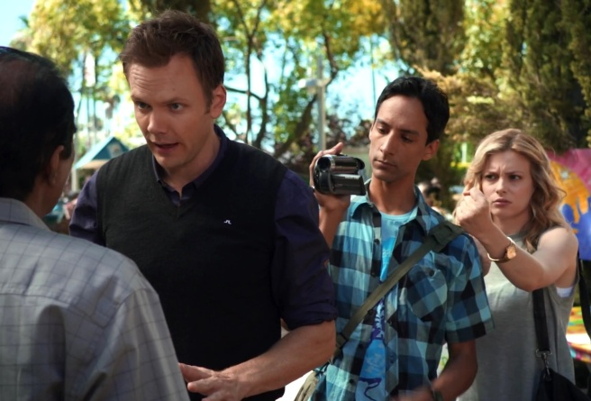 community introduction to film abed nadir danny pudi jeff winger joel mchale britta perry gillian jacobs cool abed films dad dan harmon nbc hd