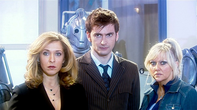 doctor who army of ghosts david tennant tenth doctor jackie tyler camille coduri yvonne hartman tracy ann oberman cybermen daleks gh