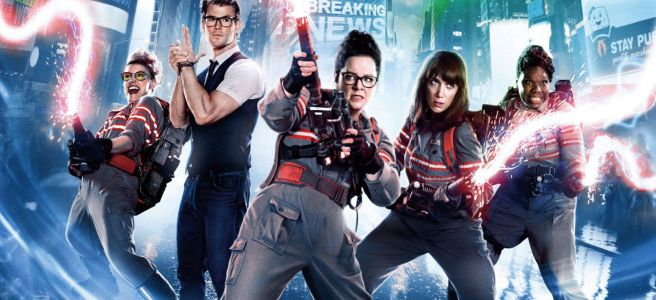 ghostbusters 2016 answer the call review paul feig kate mckinnon leslie jones melissa mccarthy kristen wiig all female ghosbusters 2