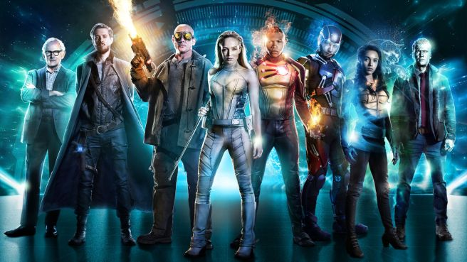 legends of tomorrow season 2 dc arthur darvill caity lotz maisie richardson sellers dc arrow flash wentworth miller